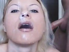 Kelly the Slut 4 Facial