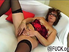 Jana Young Vs Old Stockings Blowjob Brunette