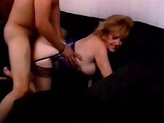 Insatiable blonde milf relishes a deep drilling after a great blowjob