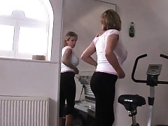 Unfaithful british milf lady sonia showcases her giant breas
