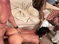 Married euro pussyfucked in front of husband