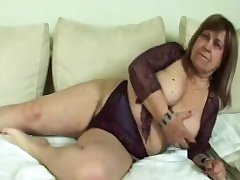 Fat blonde granny blowjob fucking doggy style