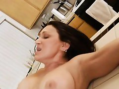 Lusty mama acquires wild and sits down on pecker for a ride