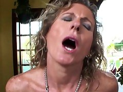 Mature honey rides on a BBC